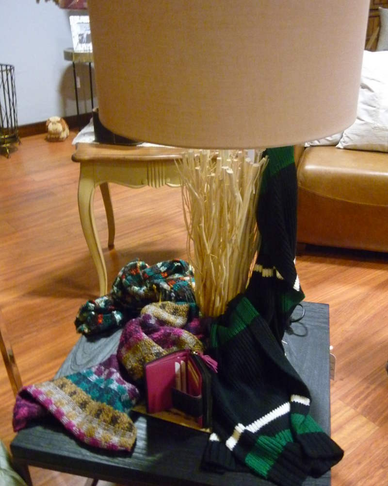 Bufandas y billeteros